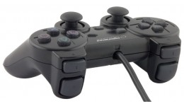 Gamepad Esperanza EG106 (PC,PS2,PS3;kolor czarny)