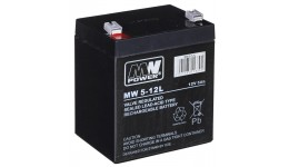 Akumulator MPL POWER ELEKTRO MW 5-12L 12V 5Ah